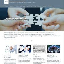 Public Relations sector website for FPI wordpress custom development