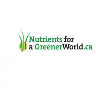 logo green grass industrial association branding and marketing